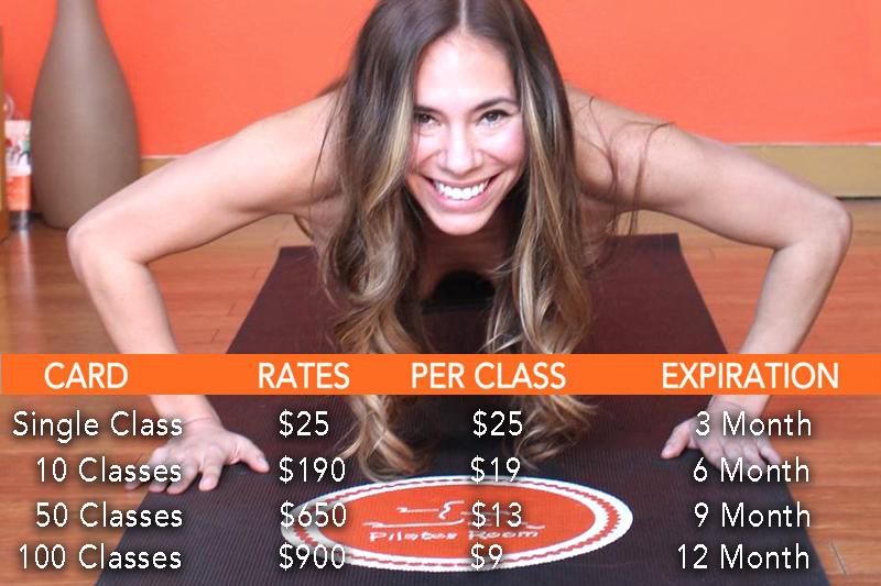 Pilates Room Studios :: Mission Valley - Reformer Classes Under $5